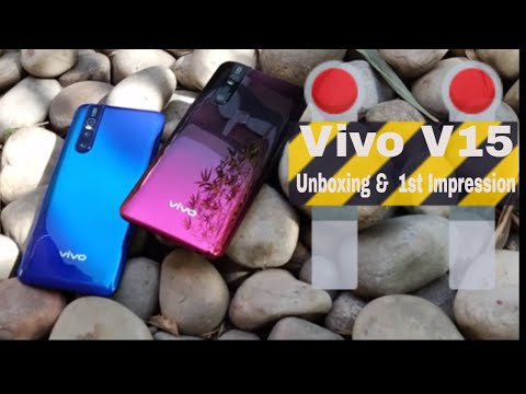 Vivo V15: Unboxing and 1st impression