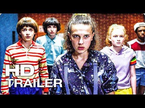 ОЧЕНЬ СТРАННЫЕ ДЕЛА Сезон 3 Русский Трейлер #2 (2019) Netflix Series