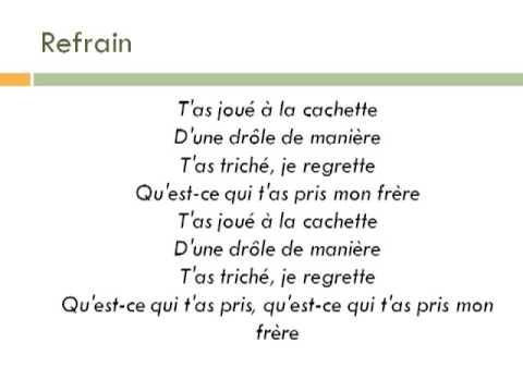 """""""Mon frère"""" France d'amour"""