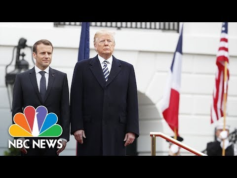 President Donald Trump, French President Emmanuel Macron hold White House News Conference | NBC News