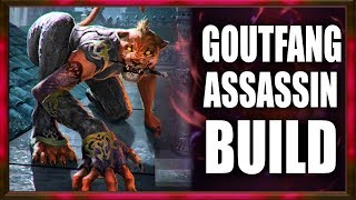 Skyrim SE Builds - The Goutfang Assassin - Toxic Claws Modded Build