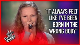 BRAVEST Blind Audition EVER | The Voice Global (vertical video)