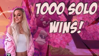 Fortnite - 1000 SOLO WINS! LIVE NOW! 14K ELIMINATIONS. NEW SKIN & CONSOLE GAMEPLAY!