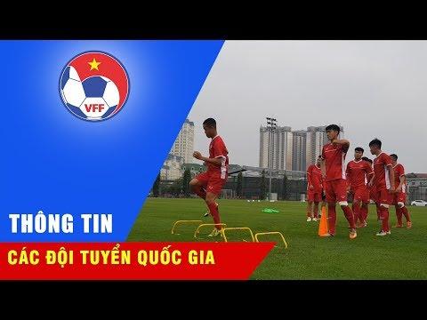 ĐT U19 Việt Nam lên đường sang Hàn Quốc tham dự cúp Tứ Hùng 2018   VFF Channe