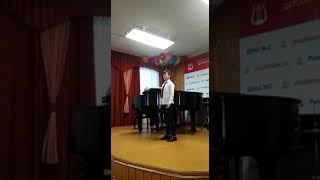 2019.05.28 Чудо птица. Переводной экзамен по вокалу за 3 класс.