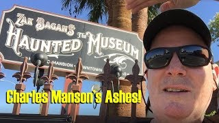 Visiting Zak Bagans' Haunted House Museum In Las Vegas, NV (Charles Manson's Ashes On Exhibit)