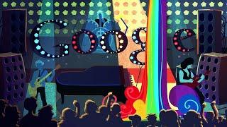 Фредди Меркьюри, Freddie Mercury Google Doodle