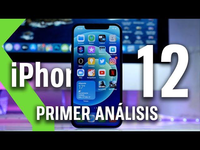 iPhone 12 ANÁLISIS tras primera toma de contacto - MEJOR DISEÑO Y PANTALLA pero...