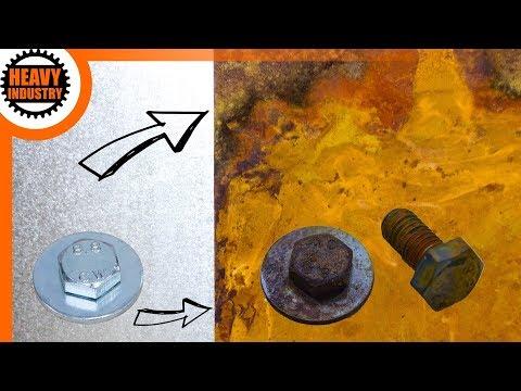 🔥 Metall verrosten lassen - ANLEITUNG