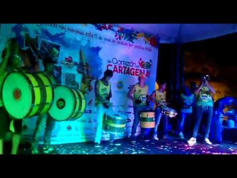 """""""La Instrumental Heroica - """"De Corazon Con Cartagena"""" 19/06/2016"""" Barra: Rebelión Auriverde Norte • Club: Real Cartagena"""