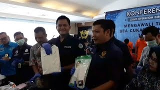 Bea Cukai Ungkap Penyelundupan Sabu yang Diresapkan Dalam Pori-pori Baju di Bandara Soekarno-Hatta