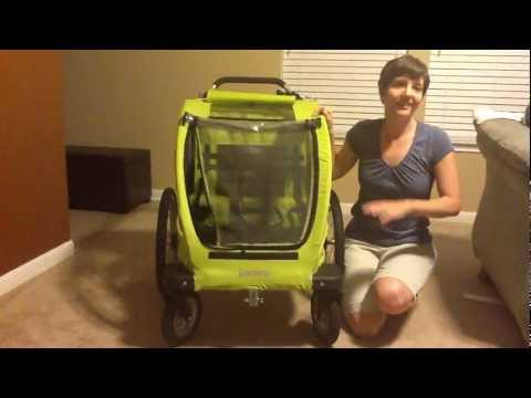 Joovy CocoonX2 Stroller, Jogging Stroller, Bike Trailer Review