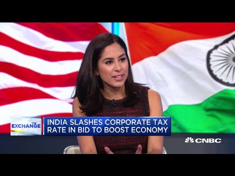 India slashes corporate tax rate to boost economy