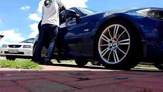 How to open a locked BMW with the keys into the ignition