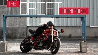Motorcycle Gymkhana Romain Jeandrot : The Drift Rampage