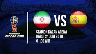 Jadwal Live Trans TV Pertandingan Piala Dunia 2018: Timnas Iran VS Spanyol