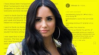 Demi Lovato SPOTTED Out Of Rehab & RESPONDS To Overdose!