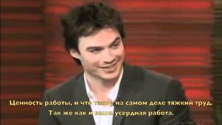 Иэн Сомерхолдер, Ian Somerhalder on Regis&Kelly (RUS SUB)