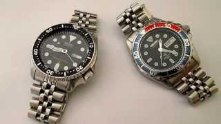 Automatic Vs. Kinetic Watches : Seiko SKX vs Seiko Kinetic