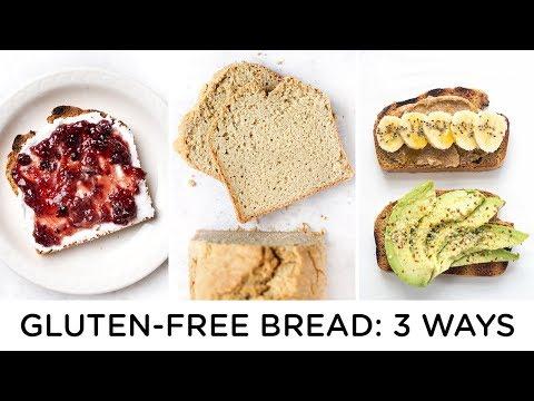 GLUTEN-FREE BREAD RECIPES ‣‣ 3 ways to make healthy bread