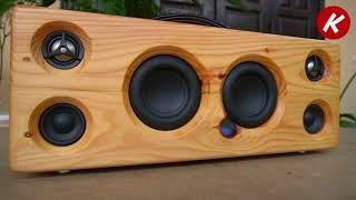 DIY Bluetooth Speaker  Using Pallet Wood