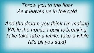 Acceptance - In The Cold Lyrics