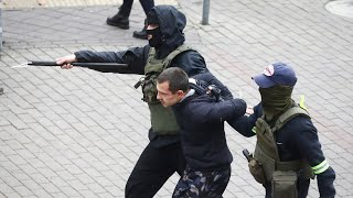 video: Over 1,000 detained in Belarus as crackdown on protests escalate
