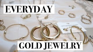 My Everyday Gold Jewelry Favorites   Hoops, Rings, Necklaces, Bracelets