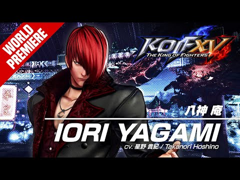 IORI YAGAMI?Character Trailer #4 (4K) de The King of Fighters XV