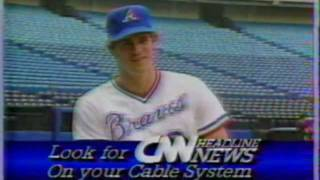 1984 CNN Sports Promo With Atlanta Braves  Dale Murphy