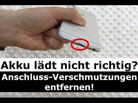 iPad/iPhone Akku lädt nicht richtig: Anschluss-Verschmutzungen entfernen - so einfach gehts