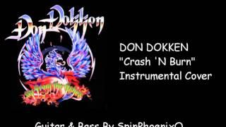 DON DOKKEN - Crash'N Burn - Instrumental Cover