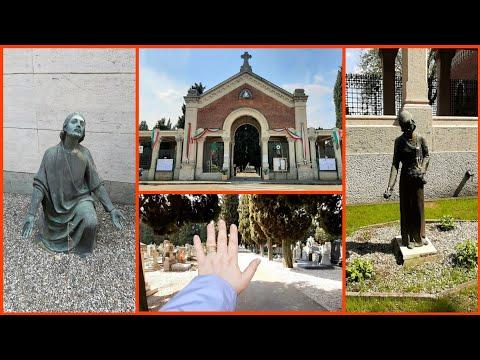 3) КЛАДБИЩЕ в Италии 🔹️ Часть 1 🔷️ Милан, Провинция Сесто-Сан-Джованни 🔹️ Обзор. Поиск захоронений