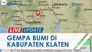 Gempa Terjadi di Kabupaten Klaten pada 26 Juli 2021, BMKG Sebut Magnitudo Kecil dan Tak Ada Dampak