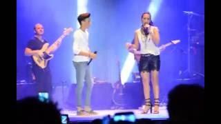 India Martinez & Jose Maria - Me Olvide Respirar En Dos Hermanas, 24/06/16