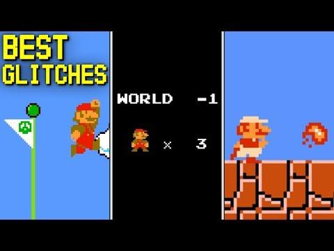 Top 10 Glitches in Super Mario Bros.