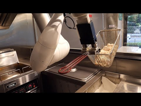 WTH: Chicken Fried By Robot Korean Street Food
