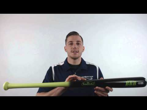 BamBooBat Bamboo Wood Baseball Bat: HYBB100D Adult