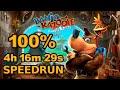 Banjo kazooie: Nuts amp Bolts 100 Speedrun In 4:16:29