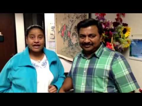 Testimonial video for fertility treatmnet