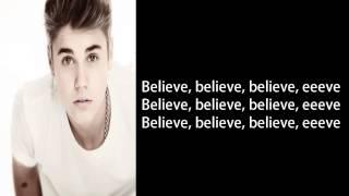Justin Bieber - Make You Believe (Lyrics)