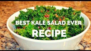 Raw Kale Salad Recipe - Best Kale Salad Ever