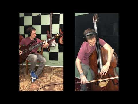 Little arrangement of Zelda's Lullably, 6 string bass and upright bass.