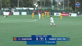 4ème tour Coupe de France : JS Chambérienne / Chambéry savoie Football