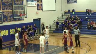 Central Junior High Basketball   vs. Lakeside