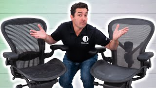 Herman Miller Aeron Classic Vs. Remastered: 8 Major Differences