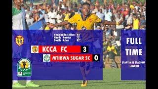 KCCA FC  3-0  MTIBWA SUGAR SC : Goals and Highlights  (15-Dec-2018)
