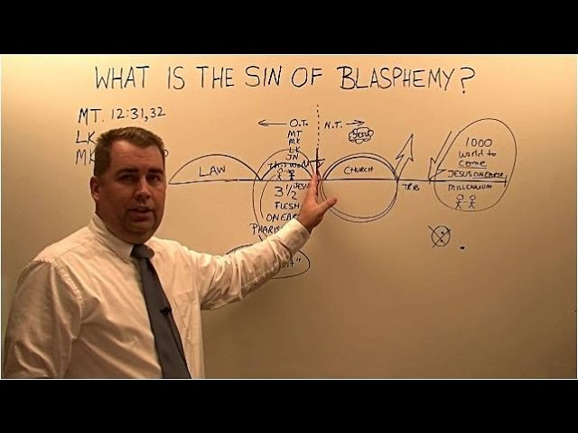 What is the Sin of Blasphemy of the Holy Ghost?