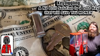 Gumball Machine Key Lock Jiggling - A No Drill Solution to a Lost Gumball Key