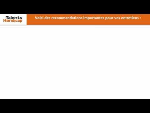 Video Conseil n°5 Préparez vos entretiens !